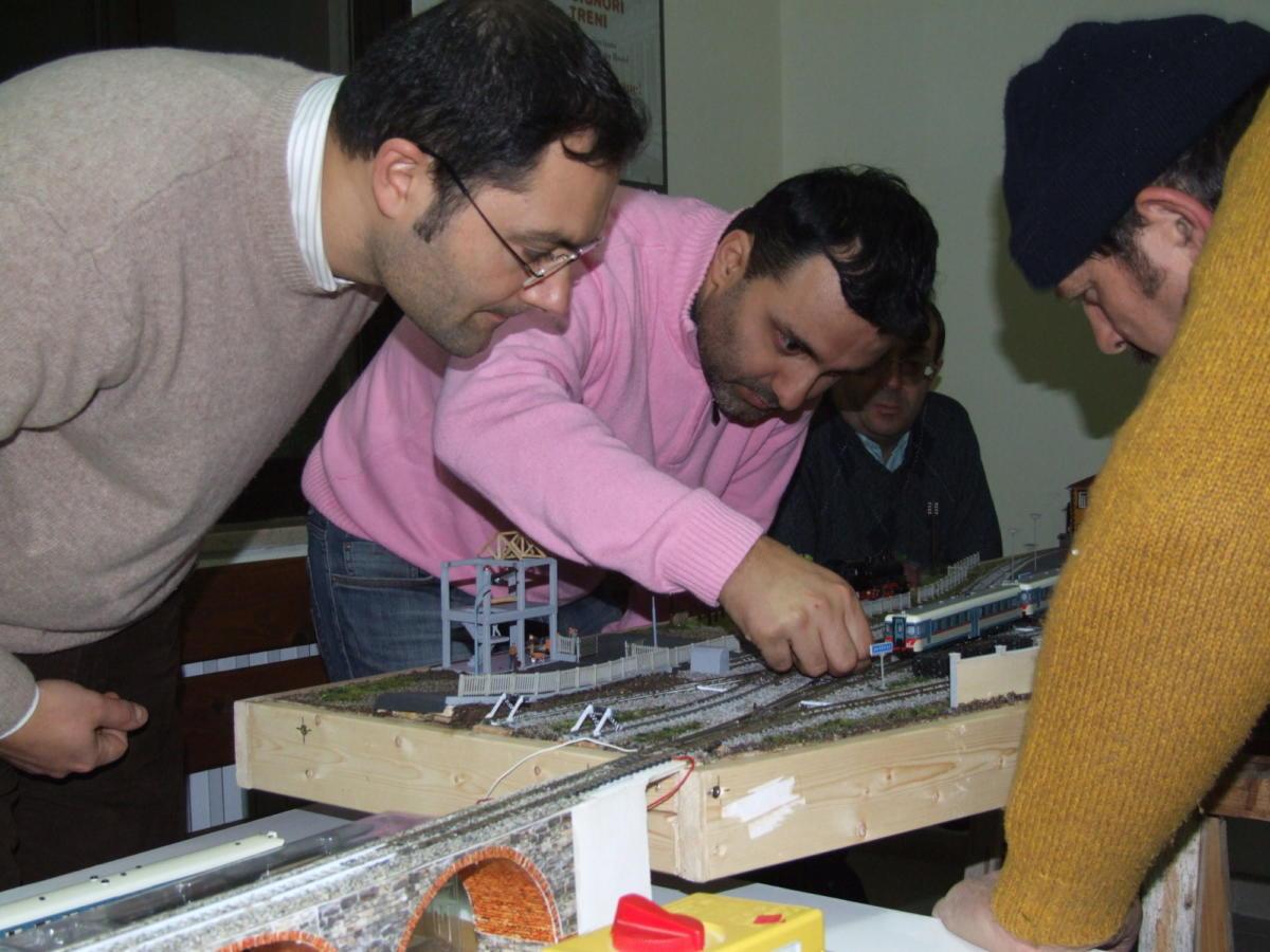 2007, Sergio, Fabrizio, Pino, Michele