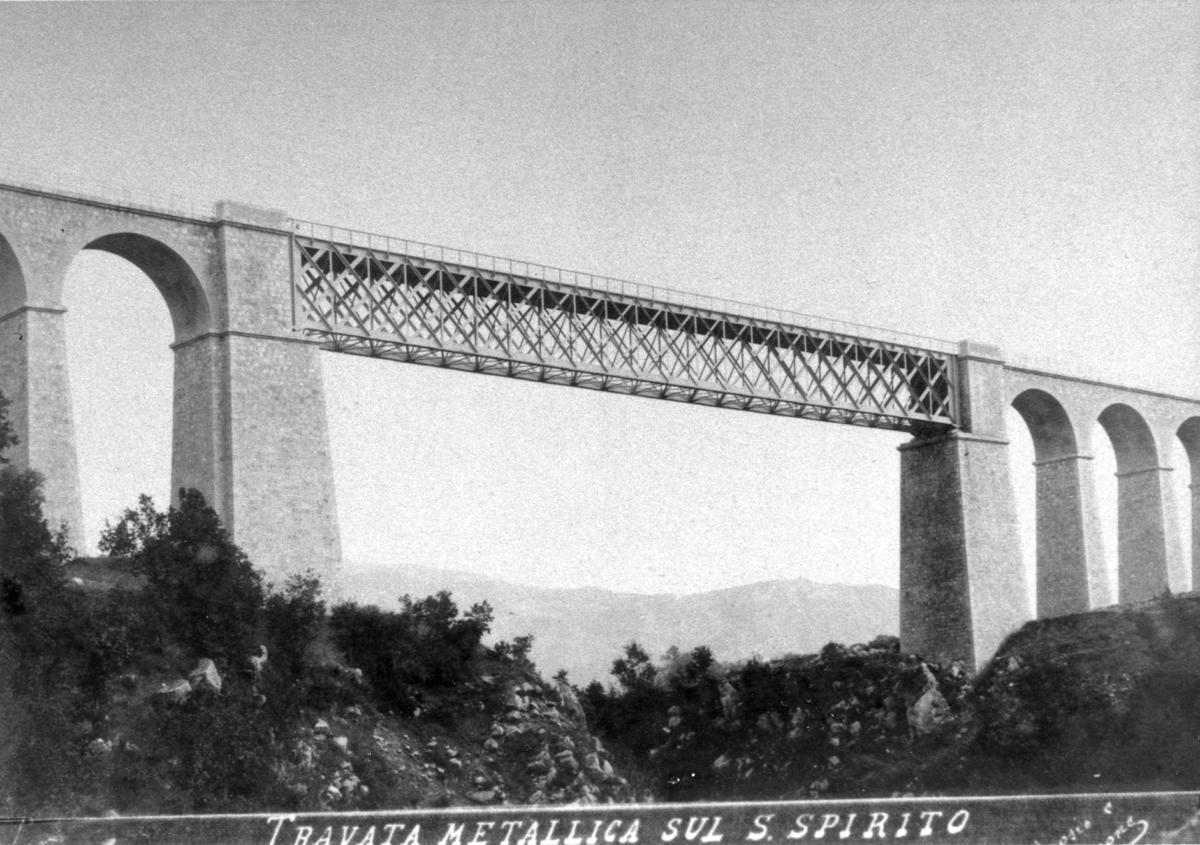 isernia, ponte Santo Spirito in metallo (foto D'Ambrosio e Schiavone)