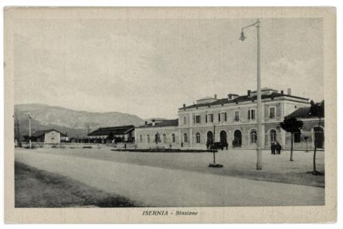 Isernia, stazione ferroviaria, 1920/30 circa