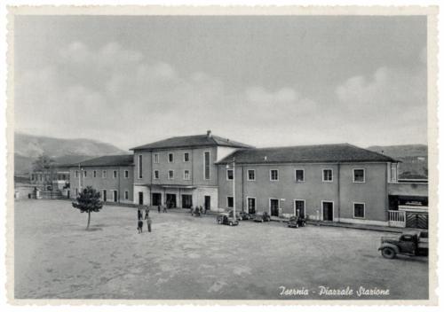 Isernia, stazione ferroviaria, anni 50