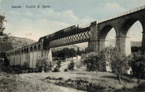 Isernia, viadotto Santo Spirito in ferro