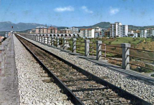 Isernia, veduta da sopra il viadotto Santo Spirito