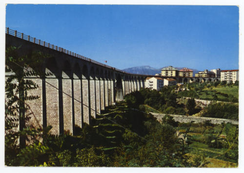 Isernia, 1970 circa, veduta viadotto Santo Spirito