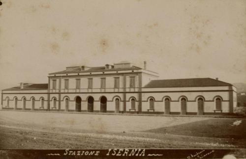 Isernia, 1893 circa, lato città