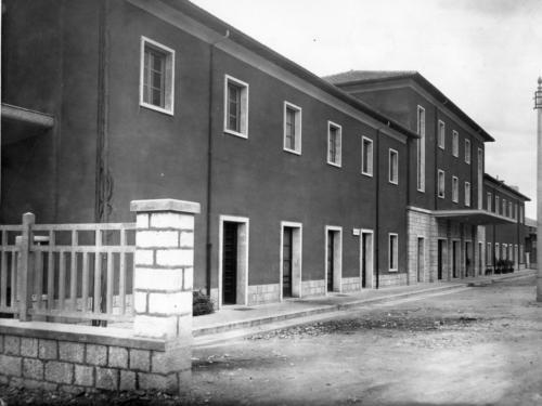 Isernia, stazione ferroviaria, anni 60