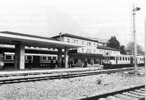 Isernia, stazione ferroviaria, anni 90