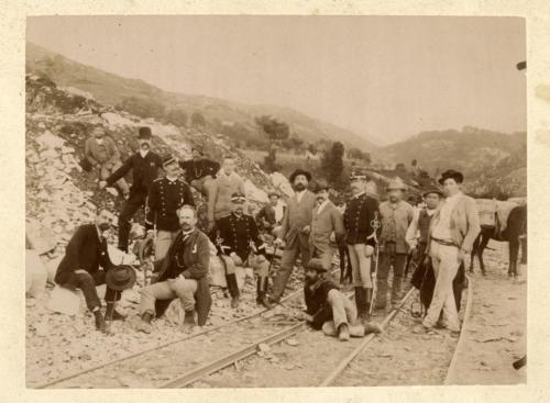 Isernia, 1893 circa, maestranze (foto D'Ambrosio e Schiavone)
