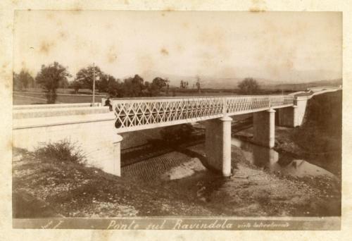1893 circa, viadotto Ravindola (foto D'Ambrosio e Schiavone)