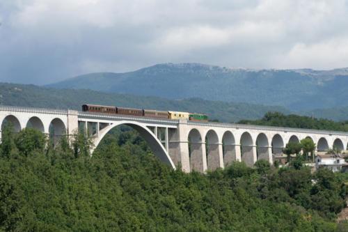 Isernia, il viadotto Santo Spirito oggi