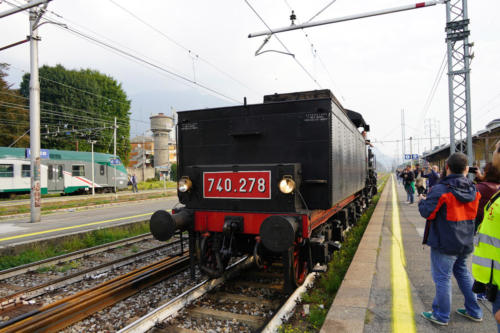 Gr 740.278 in manovra a Lecco