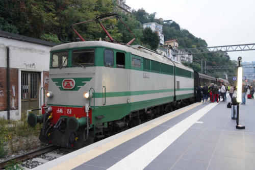 E646.158 a Como in partenza per Milano