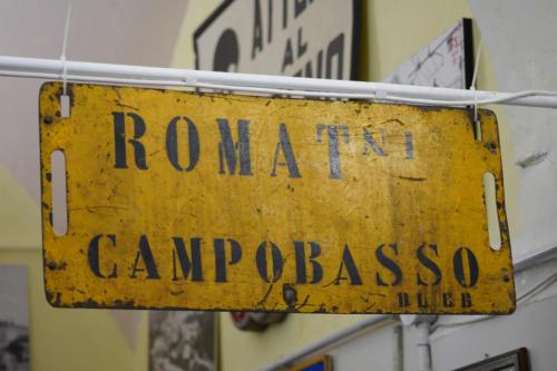 tabella di percorrenza Roma t. - Campobasso