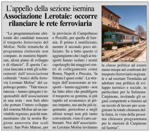 Quotidiano del Molise - 7 ottobre 2011