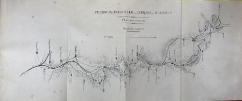Ferrovia Caianello-Isernia-Solmona, 1878