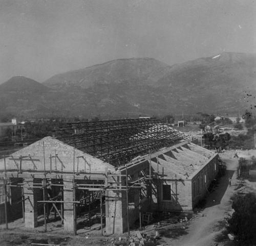 Isernia Anni 50, Rimessa Locomotive, Ricostruzione
