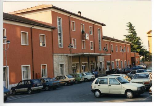 Isernia, stazione ferroviaria, anni 80