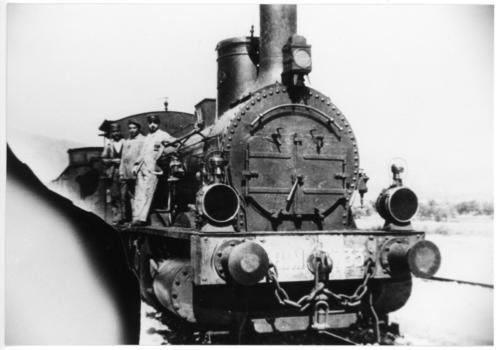 Isernia Fine 1800, locomotiva della Rete Mediterranea (R.M.)