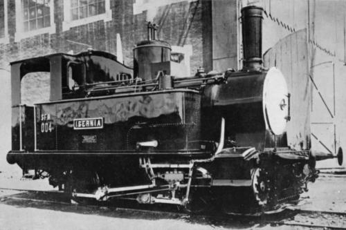 """Locomotiva """"Isernia"""" utilizzata per la costruzione della ferrovia Sulmona-Isernia"""
