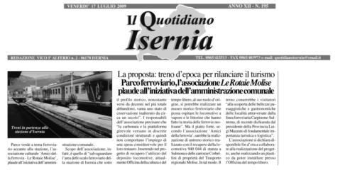 Il Quotidiano - 17 luglio 2009