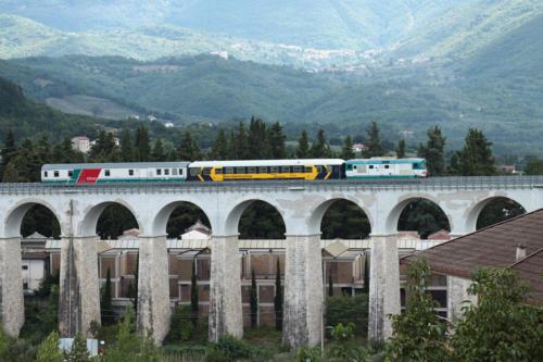 Treno Diagnostico UTMR Sperimentazione, Isernia 6 settembre 2012