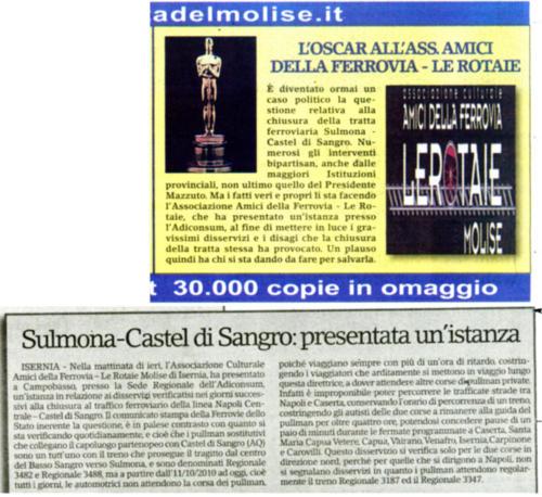 Gazzetta del Molise - 19 ottobre 2010