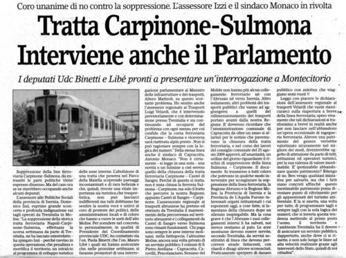 Sulmona-Carpinone